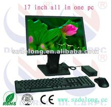 2012 hot sales!17 inch all in one pc for industrial /computer/kiosk/pos machine