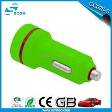 Portable single usb car charger adapter for phone