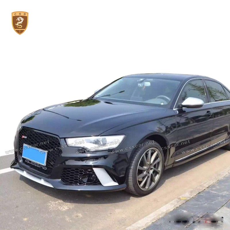 Audi Auto Body Parts: Pp Material Bodykit Rs6 Style Car Body Kits For Audi A6