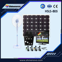 60W 10A cheap sell solar panel solar power system for home lighting for pakistan