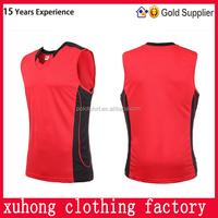 Training wear reversible wholesale export quality female basketball uniform