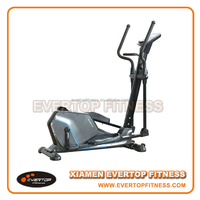 Semi commercial used stationary exercise bikes elliptical trainers