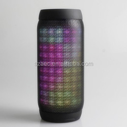 voice navigation BQ-615+new model Full color LED wireless bluetooth speaker with FM,TF slot ,2200MAH built-in battery