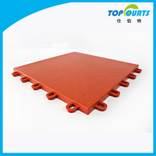 Coefficient of sliding friction:0.54 pp flooring for volleyball court basketball