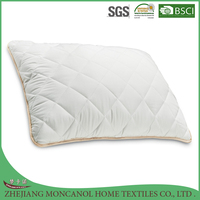 microfiber fill pillow/quilted microfiber pillow/pillow wholesale