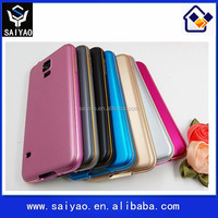 Wholesale high quality back cover metal bumper phone case for Samsung Galaxy S5