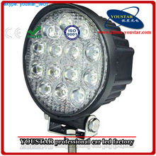 """Factory Supply IP67 10-30V DC brand chip 42W 4.5"""" 6000k spot, flood beam 4.5 inch 42w led work light for 4x4 Jeep/ ATV/ Tractor"""