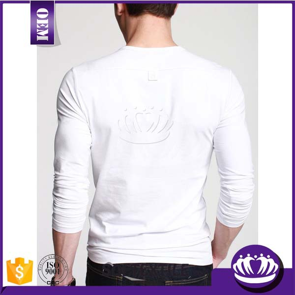 Men t shirts high quality white men t shirt wholesale for High end white t shirts