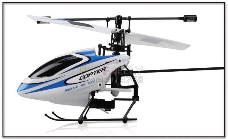 WL-v911 сингл на 4ch 2.4ghz мини rc вертолет / только вертолет сигналу пульта дистанционного управления / не сигналу зарядное