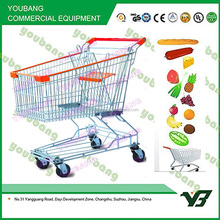 Wholesale Asian Suppermarket Shopping Trolley Cart