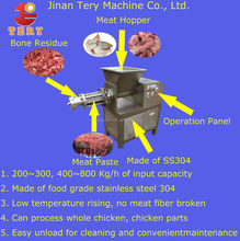 High quality Electric beef /pork /chicken /duck /boneand meat separator machine