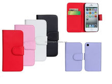 For Apple iPhone 3G 3GS PU Magnetic PU Leather Wallet Cover Stand Flip Case