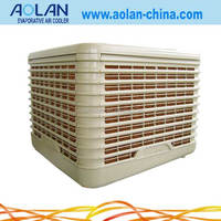 AZL18-ZX10B Airflow18000m3/h vent size 650*650mm evaporative air cooler 190pa down discharge villa roof air cooler