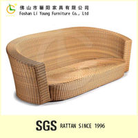 2015 wholesale good quality and low price square rattan tea set made in china