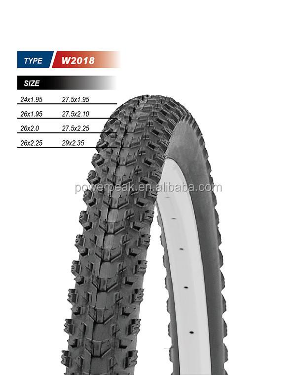 W2018 bicycle tire 24x1.95 27.5x1.95 26x1.95 27.5x2.10 26x2.0 27.5x2.25 26x2.25 29x2.35