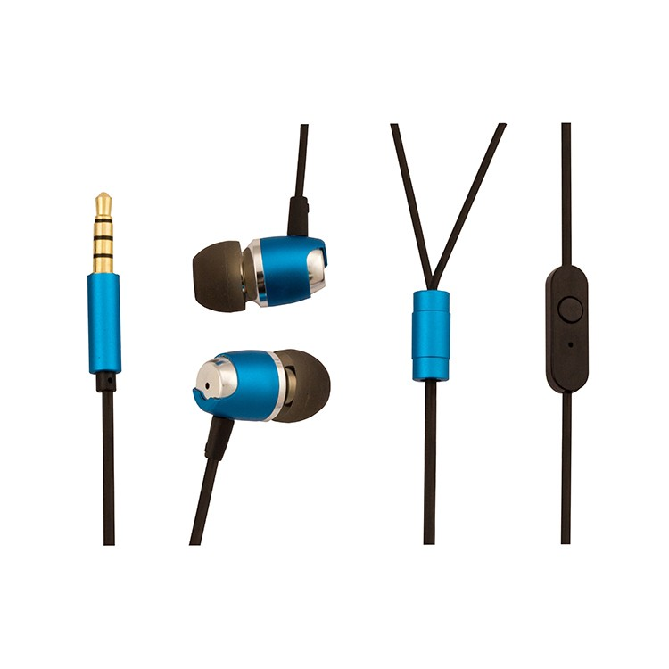Wired In-Ear Headphones Noise Canceling Sweat proof Earphones with Build-in Mic and Line Control Multi-functional Button