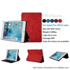 pu leather smart stand flip case cover for ipad pro 12.9, for apple ipad pro, Red