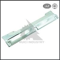 Aluminum sheet metal fabrication chrome finish motorcycle radiator parts