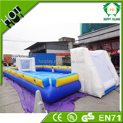 Top selling bubble football pitch,giant inflatable football field,inflatable football pitch