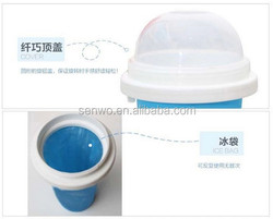 2015 new mini ice cream cup slush and shake maker,factory directly saling