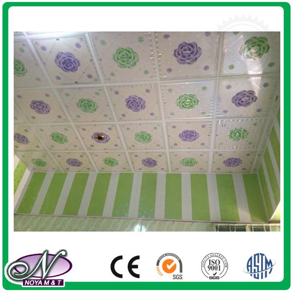 Construction materials cheap price pvc suspending ceiling panel