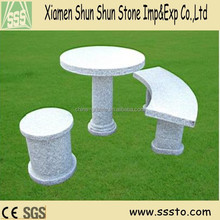 Outdoor Garden Stone Tables and Chairs/Benches