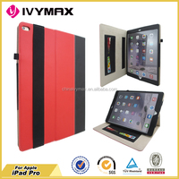 hot sale tablet case for I pad pro leather PU case manufacturer accessories