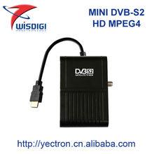 Haute qualité mini dvb - s2 récepteur satellite supermax hd