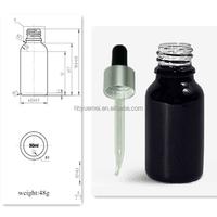 High quality 30ml glass dropper bottles