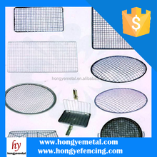 304 Stainless Steel Crimped Wire Mesh For Barbecue