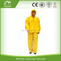 motorcycle outdoor rain suit with reflector