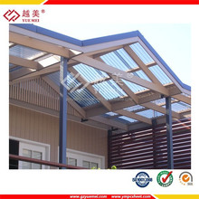 100% raw lexan construction material polycarbonate pc lowes patio covers