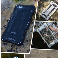 New Product For Iphone 6 waterproof mobile phone case/ Phone aluminum Waterproof Bag For Swimming