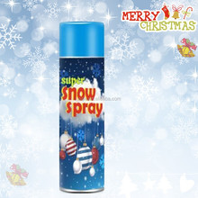 250ml Christmas party windows white snow spray made in Guangzhou,China