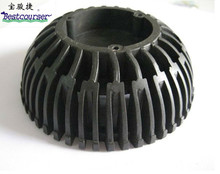 abs injection molded plastic parts, abs plastic light housing