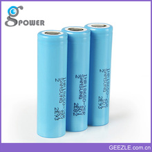 3.7v 2500mah 25R INR imr 18650 battery rechargeable 18650 lithium ion battery