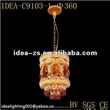 Carton Fair deco hung lampCarton Fair alabaster pandent lamp