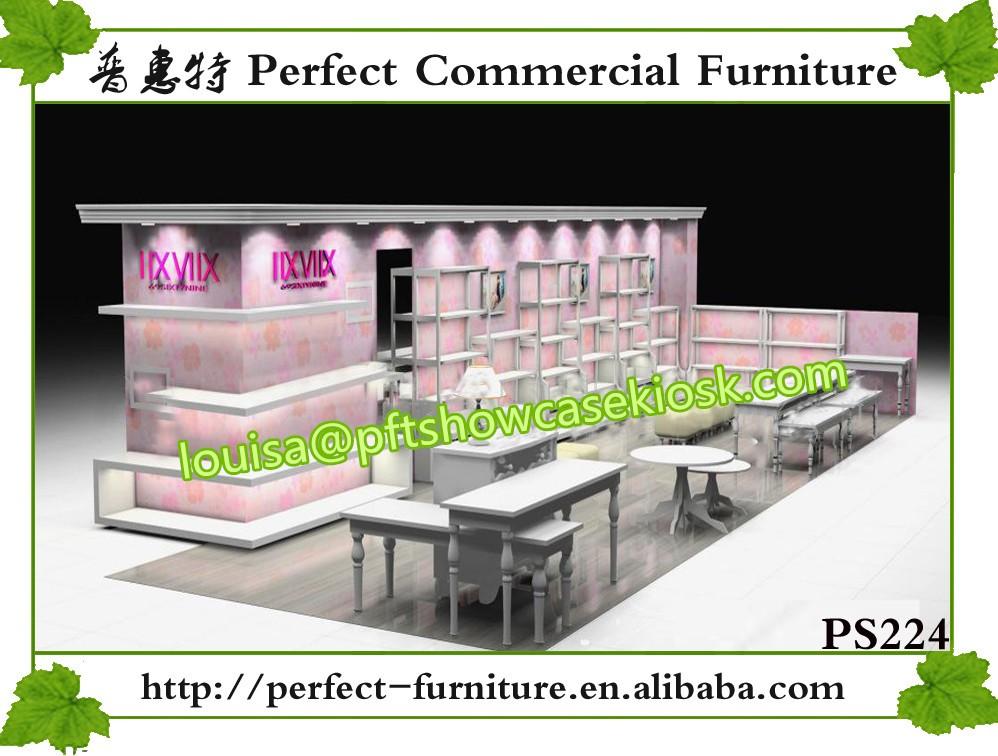 en bois meubles vitrine pour chaussures salle d 39 exposition magasin comptoir caisse conception. Black Bedroom Furniture Sets. Home Design Ideas