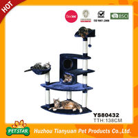 Luxury Cat Tree, Indoor Cat Tree House, Wholesale Cat Tree Scratching Post
