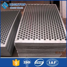 excellent 302 stainless steel square slot hole perforated metal mesh sheets