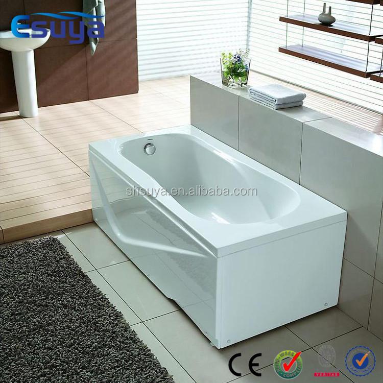 small freestanding bathtub freestanding solid surface acrylic vertical bathtu. Black Bedroom Furniture Sets. Home Design Ideas