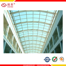 Guangzhou lowes polycarbonate panels roofing sheet manufacturer