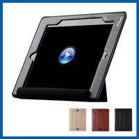 C&T Ultra Slim Folio Cover Flip Case PU Leather Case Stand for Apple iPad Mini 3