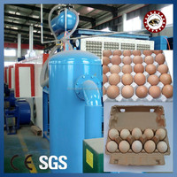 Egg Tray Making Machine / Waste paper Egg Tray Making Machine / Large capacity egg tray machine