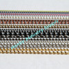 Manufacturer for 1mm-12mm colored metal ball chain necklace (connectors available)