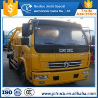 Popular model 8 cubic meter jet vacuum trucks for sale