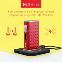 High quality TC 165W wireless charging original Eiffel T1 Temp Control Box Mod