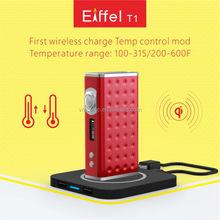 High quality TC 165W wireless charging original Eiffel T1 Temp Control Box Mod