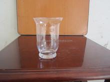 Whosale cheap New design fashion elegant flower glass vases for wedding centerpieces