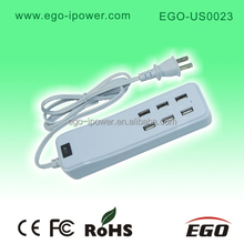 6 port 5v 4.5a multi usb charger